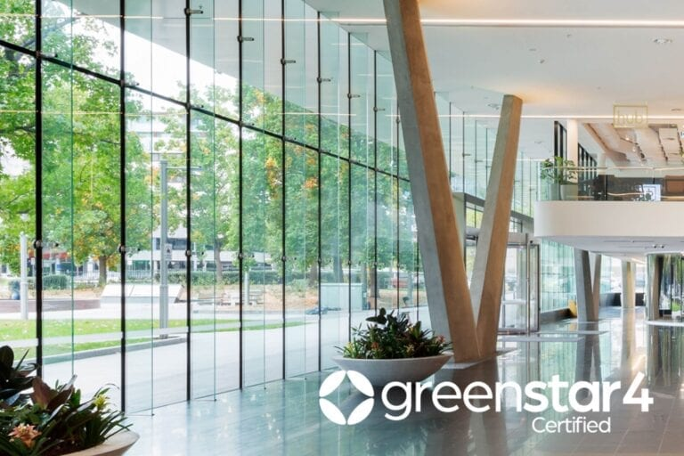 4 Star Green Star - Design & As Built certified